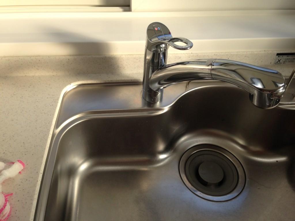 キッチン 排水溝