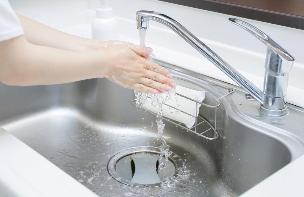 キッチン 水垢