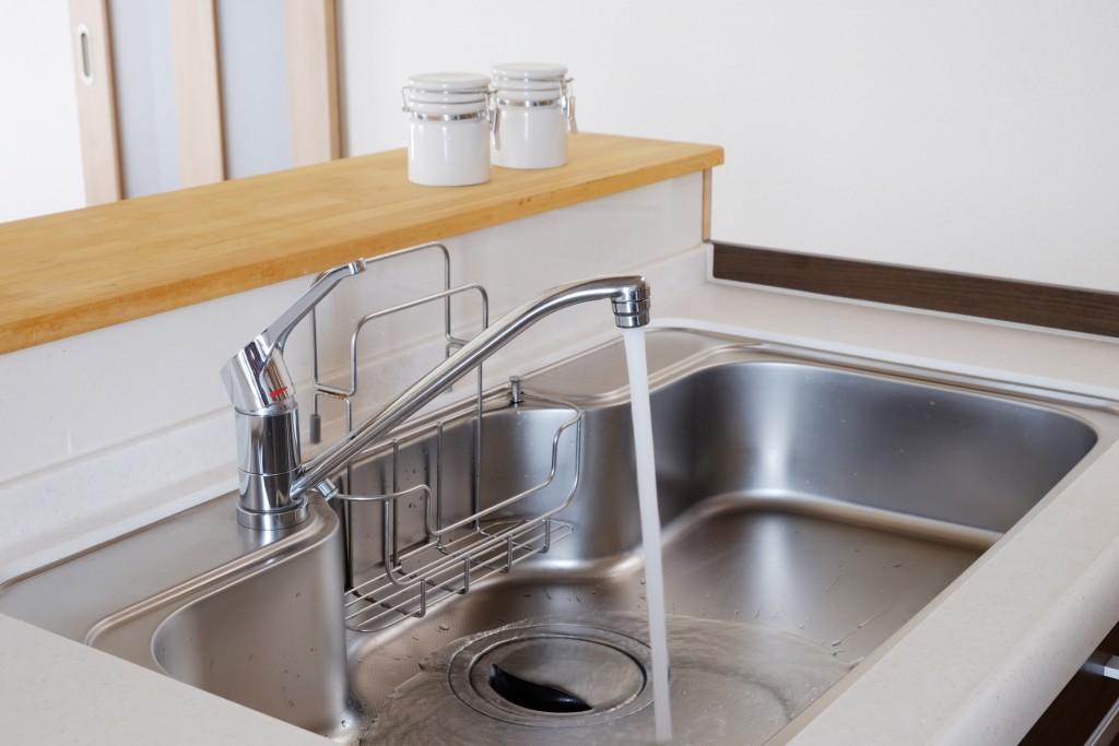 キッチン 蛇口 掃除