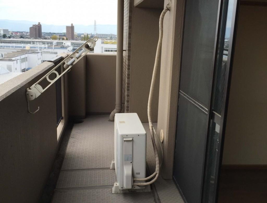 エアコン 室外機 ドレスホース 水漏れ
