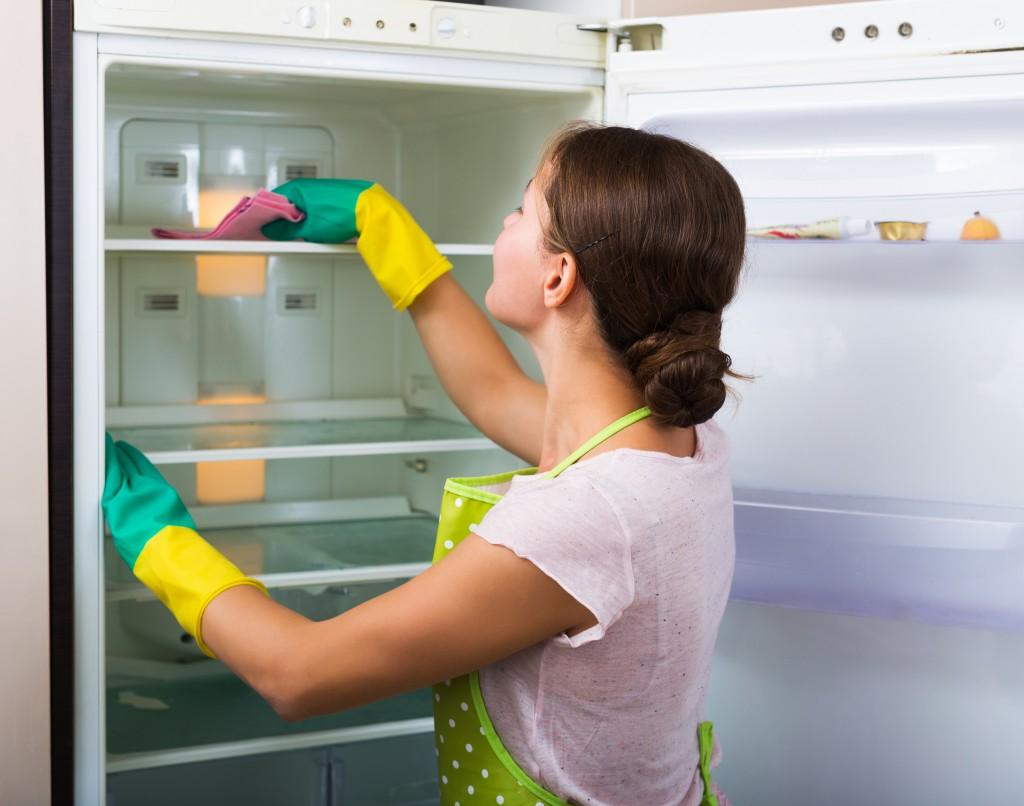 冷蔵庫 掃除方法