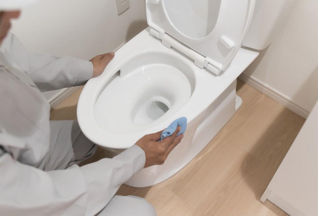 トイレ掃除 床